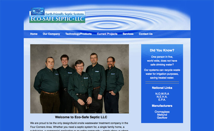 websitedesign_ecosafeseptic